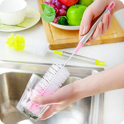 Cup Brush Cleaner Bottle Pipe Tube Bowl Dish Cleaning Nylon Cleaning Brushes