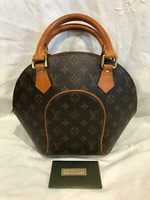 Louis Vuitton Monogram Bowling Bag Purse Ellipse Line Mint Condition