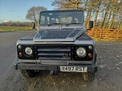 Defender 110 County Station Wagon Long Mot Solid Galvanised Chassis