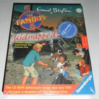 The Famous Five: Kidnapped! - sealed PC adventure game