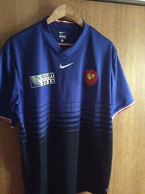 France Rugby World Cup 2011 Shirt - Nike - XL
