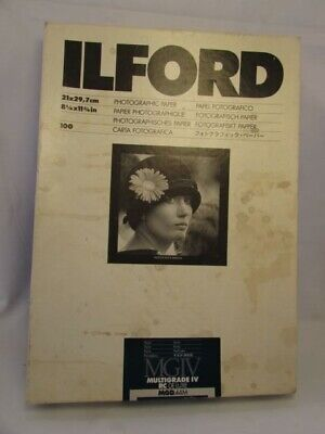 Ilford Photographic Paper 8 1/4 x 11 3/4 Inch 100 Pearl MGIV 44mm