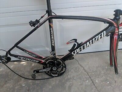 USED SPECIALIZED S-WORKS Tarmac SL2 58cm Black/Silver Carbon