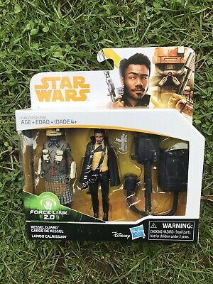 Star Wars Solo Lando Calrissian and Kessel Guard Figure Double Pack