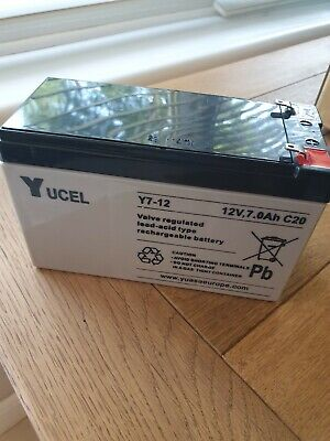 Ucel Rechargable Lead Acid Type Battery 6V 1.2Ah C20 080803C0