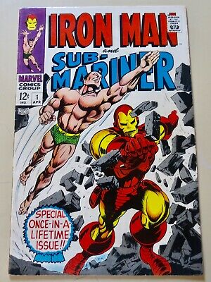 19-C0616: Iron Man & Sub-Mariner # 1, 1968, You Grade It! See Promo 7 for 7!