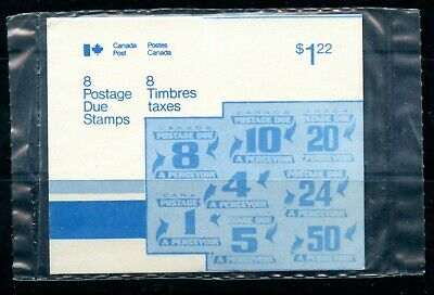 Weeda Canada J28a-J40 VF set of Fourth issue Postage Dues in sealed pack