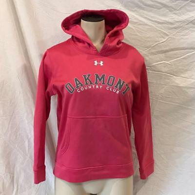 Under Armour Girls Oakmont Country Club Hooded Sweatshirt Size L