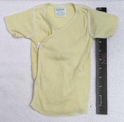 Vintage Light Yellow Small World Sleep Gown 18 Months jds