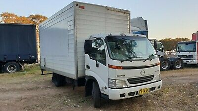 Hino Dutro 300 wide furniture pantech truck. Car Licence!