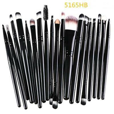 20pcs Makeup Brushes Kit Set Foundation Eyeshadow Eyeliner Lip Brush Tool