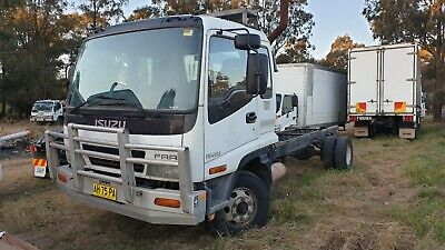 Isuzu FRR Long cab chassis truck..With Rego