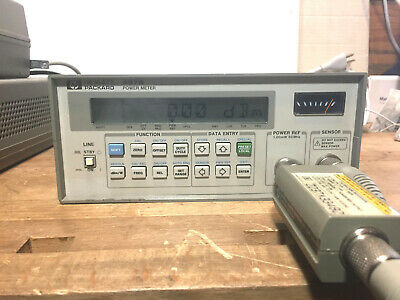 HP Agilent 437B High Performance Single Channel Power Meter Tested
