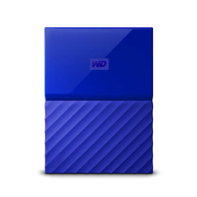 WD My Passport 2TB Blue (Thin) Manufacturer Refurbished Portable Hard Drive
