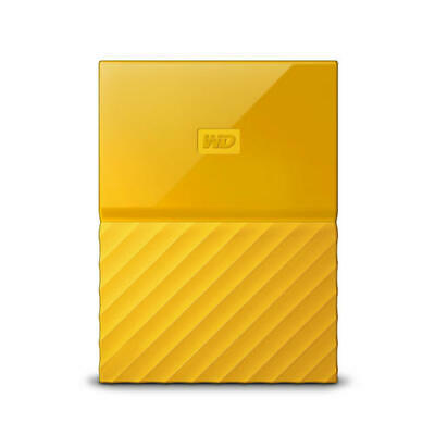 WD My Passport 3TB Yellow Manufacturer Refurbished Hard Drive by Western Digital