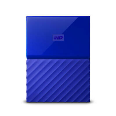 WD My Passport 3TB Blue Manufacturer Refurbished Hard Drive by Western Digital