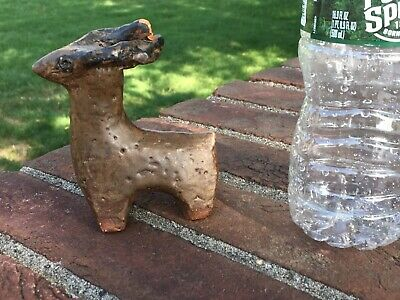 Ancient Pre Columbian Tlatilco,  Pottery figure / NATIVE AMERICAN SCULPTURE OLD