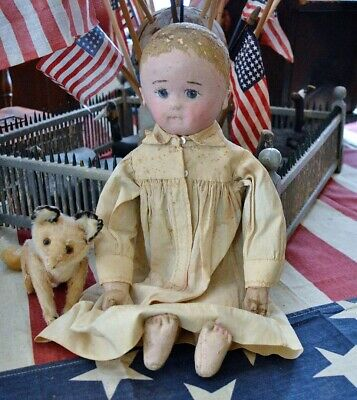 Antique Martha Chase Doll in Antique Gown *