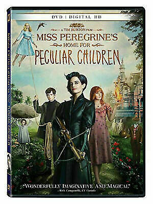 Miss Peregrines Home for Peculiar Children (DVD Canadian) NEW! Free Ship Canada!