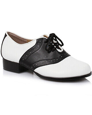 Black And White Saddle Womens Shoes