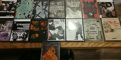 Criterion Collection DVD lot - 15 Films, Harlan County, Shallow Grave, and More!