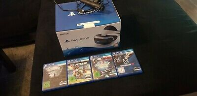 Sony PlayStation VR Headset Bundle + 4 Spiele + Kamera