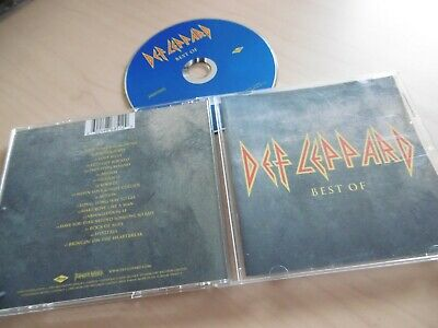 Def Leppard Best Of Cd Sugar Photograph Love Bites Rocket Animal Action Hysteria