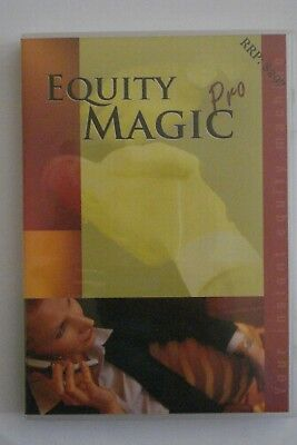 + Equity Magic Pro [Pc Dvd-Rom + Free Rom [Rrp $297] Instant Equity Machine