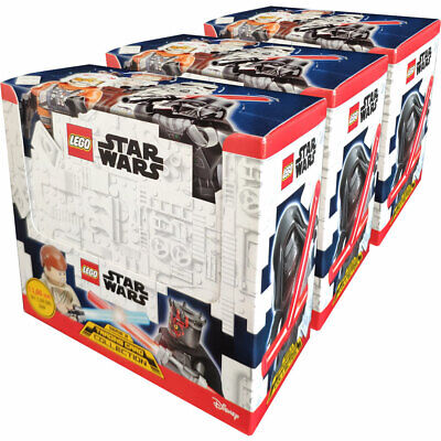 LEGO Star Wars - Serie 2 Trading Cards - 3 Displays (150 Booster)
