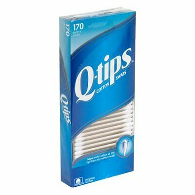 Q-TIPS - Cotton Swabs - 170 Swabs
