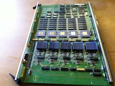 Gold Circuit Board old server  8 rare cpus