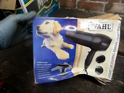 Wahl Pet Grooming Hair Dryer Brand New Box Damaged