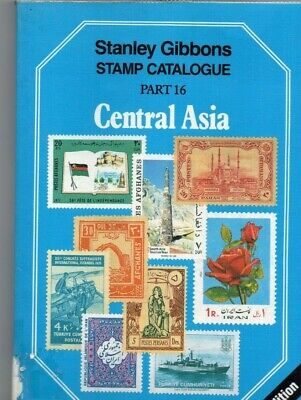 Central Asia catalogue, Stanley Gibbons part 16, 3rd edition