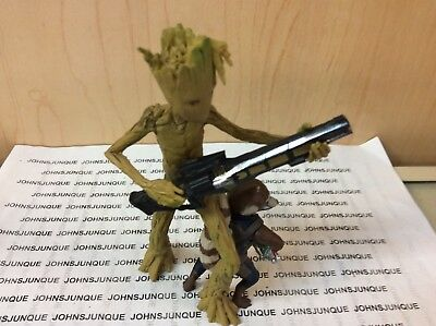 Groot And Rocket Hallmark Ornament 2018 Avengers Infinity War New Low Price!!