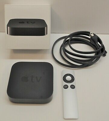 Apple TV 3rd generation With Original Remote And Box - Free shipping