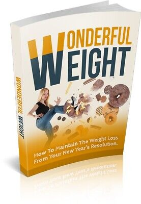 2019 NEW Wonderful Weight ebook PDF with Master Resell Rights Free Shipping