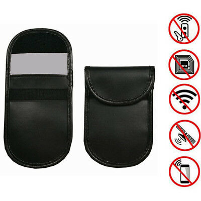 Car key signal blocker case faraday cage fob pouch keyless rfid blocking bag TLP