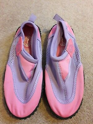 NALU Wet Womens Size 4 Aqua Boots Beach Surf Water. Pink and purple.