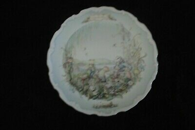 """Royal Albert Wind in the Willows """"The Picnic"""" Plate"""