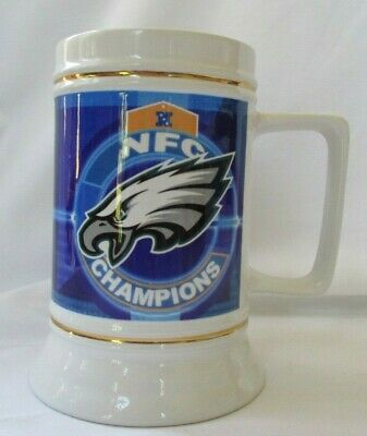 Philadelphia Eagles 2005 Nfc Champions Super Bowl Xxxix Beer Stein
