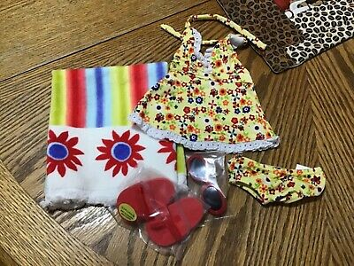 Retired American Girl Doll Julie/'s Classic Red Holiday Dress Outfit NEW!