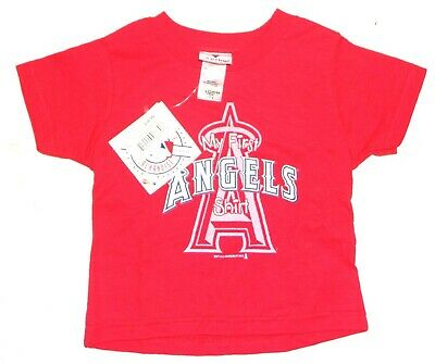 MLB Los Angeles Angels of Anaheim My First Angels Shirt RED