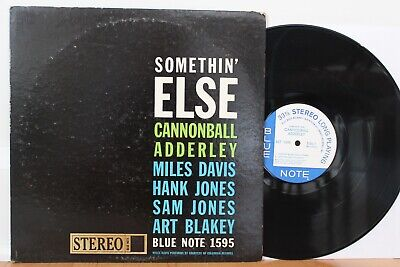 """Cannonball Adderley LP """"Somethin' Else"""" ~ Blue Note 1595 ~ Liberty ~ RVG ~ CLEAN"""