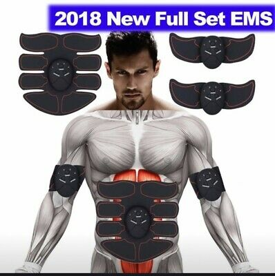 Ultimate AB /& Arms Muscle Simulator ABS Training Home Abdominal Trainer Body Set