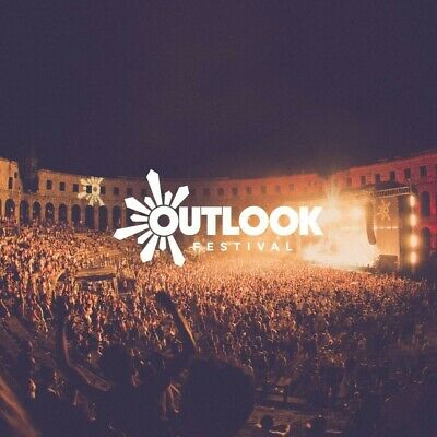 1 x Outlook Festival (early bird) + Opening Show tickets