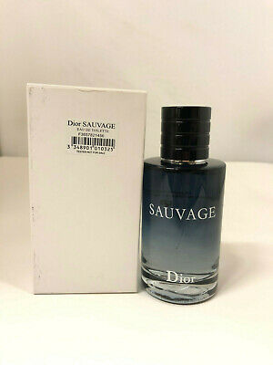 Dior Sauvage By Christian Dior EDT For Men 3.4 Oz/100 ML TESTER