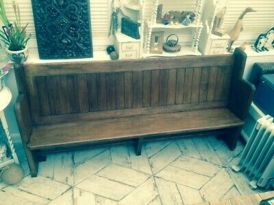 Stunning Monks Bench / Church Pew from the Cotswolds