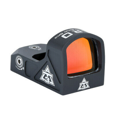AT3 Tactical ARO Micro Red Dot Sight - 3 MOA Reticle - Fastfire/Venom Compatible