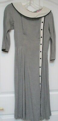 Late 50's/Early 60's Cotton Dress