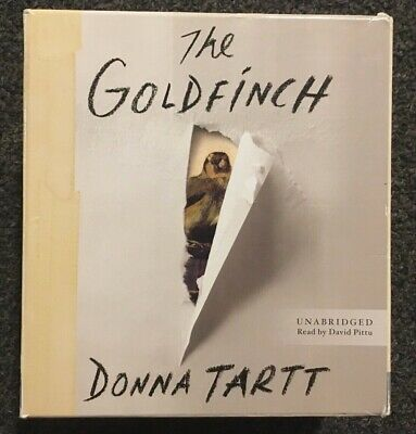 The Goldfinch by Donna Tartt 26 CD's 32.5 hours Unabridged